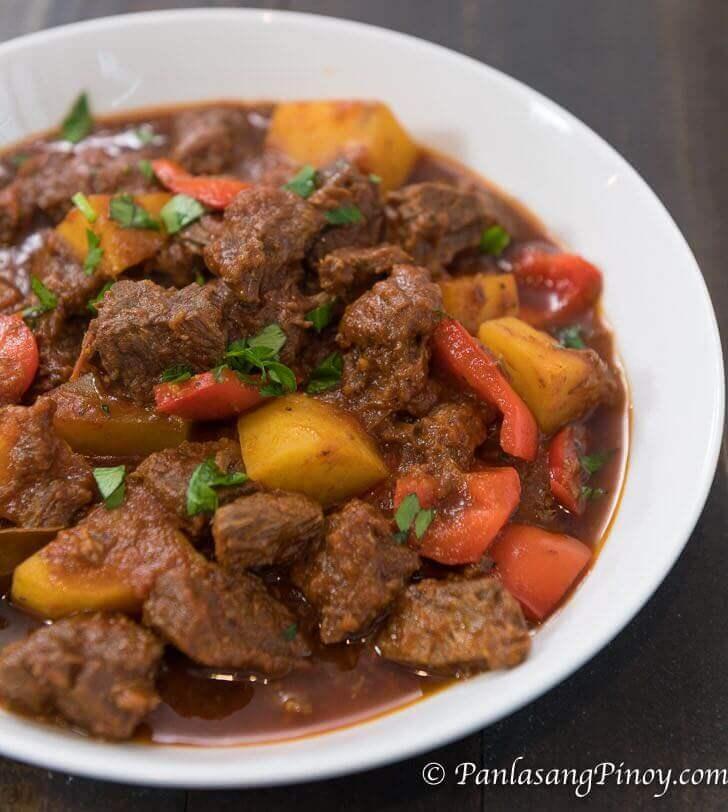 mechadong baka recipe