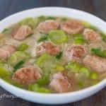 pork bola bola soup recipe