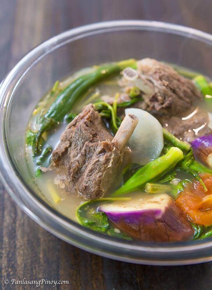 beef ribs sinigang recipe panlasang pinoy