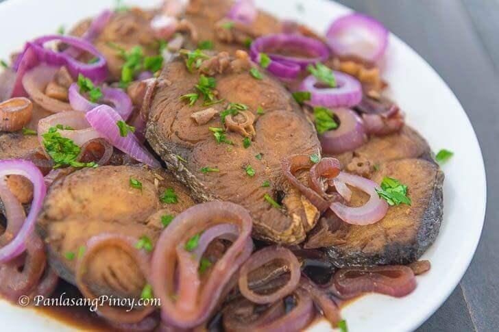 tanigue fish steak