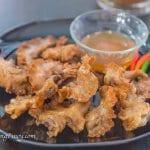 chicharon bulaklak with pinakurat