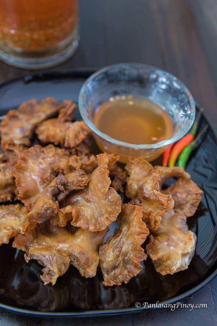 chicharon bulaklak with spicy vinegar recipe