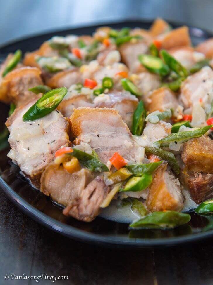 crispy bicol express recipe