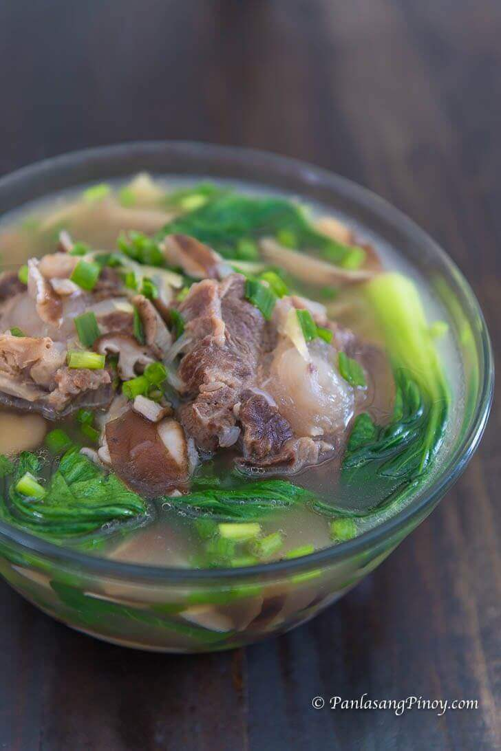 oxtail soup recipe panlasang pinoy