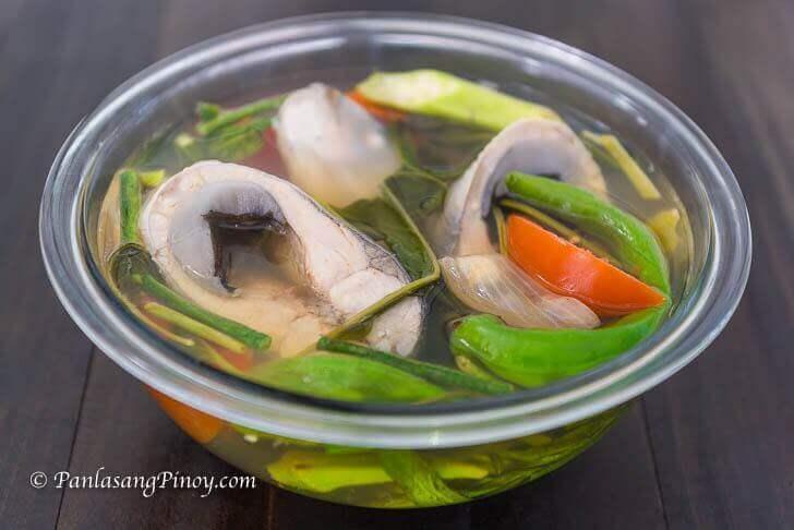 sinigang na bangus recipe filipino