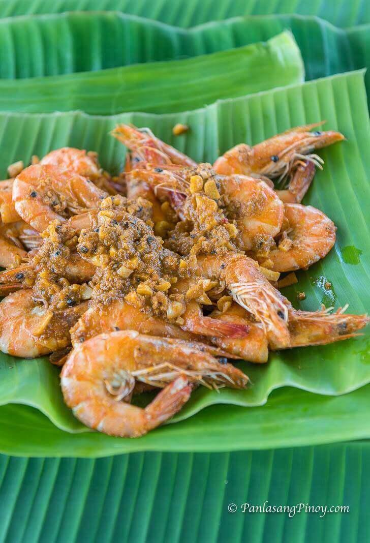 Shrimp with Butter and Taba ng Talangka