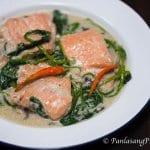 ginataang salmon