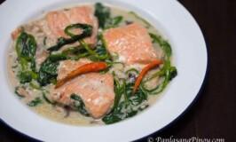 Ginataang Salmon (Salmon in Coconut Milk)