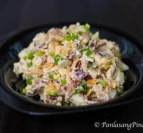 Ketogenic Bacon And Egg Salad Recipe Panlasang Pinoy