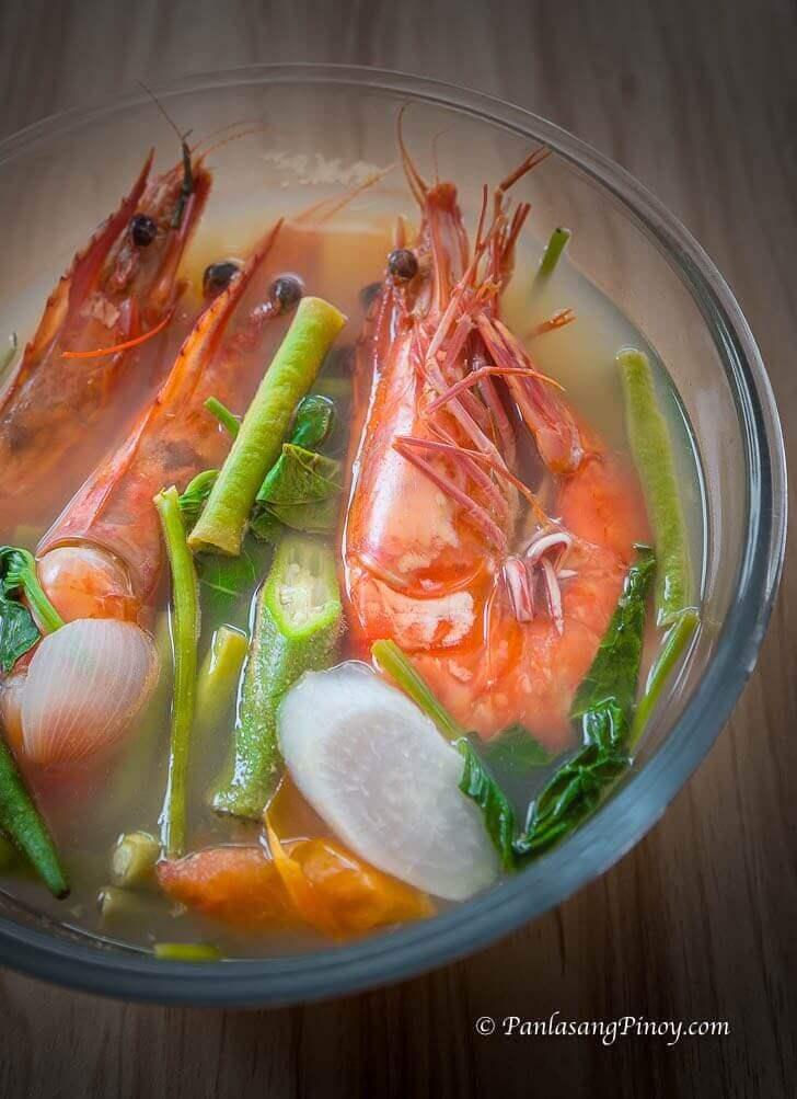 sinigang na sugpo recipe panlasang pinoy