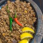 sizzling liempo sisig recipe