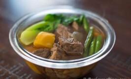 Nilagang Baka with Kalabasa – Filipino boiled beef Soup