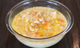 Rich and Creamy Chicken Sopas - Filipino Macaroni Chicken Soup