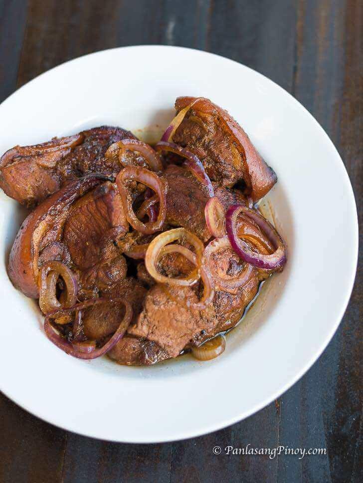 root beer pork steak recipe