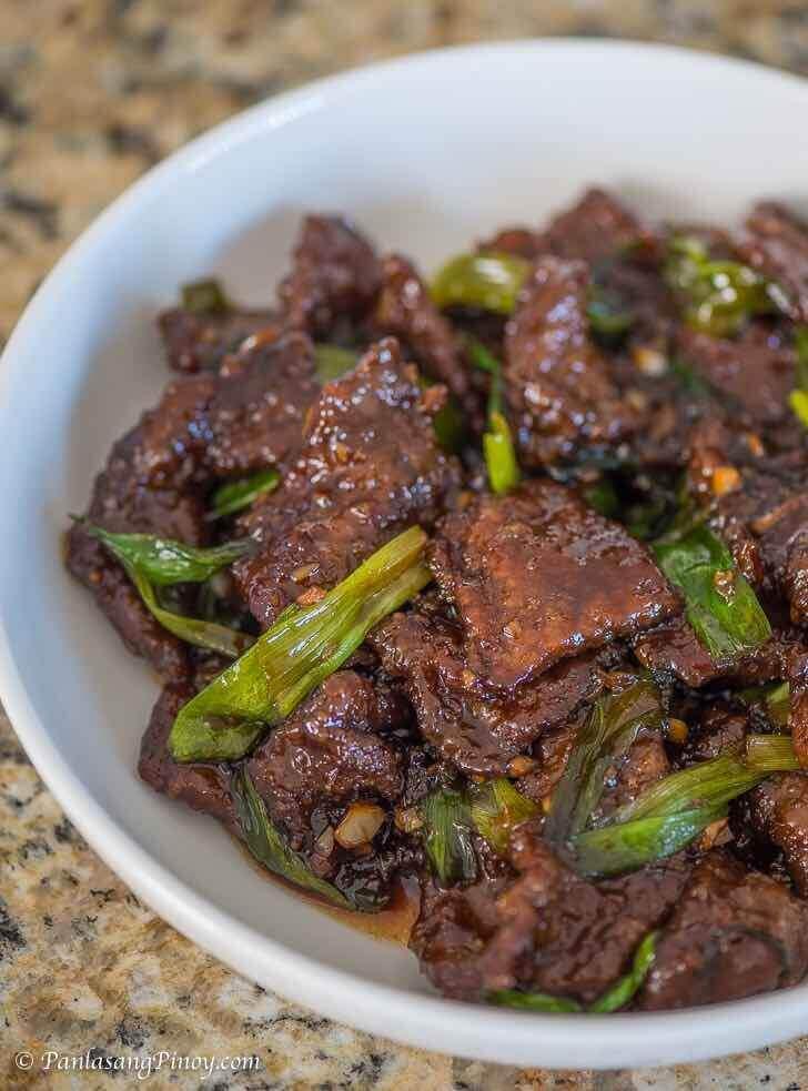 mongolian beef recipe panlasang pinoy