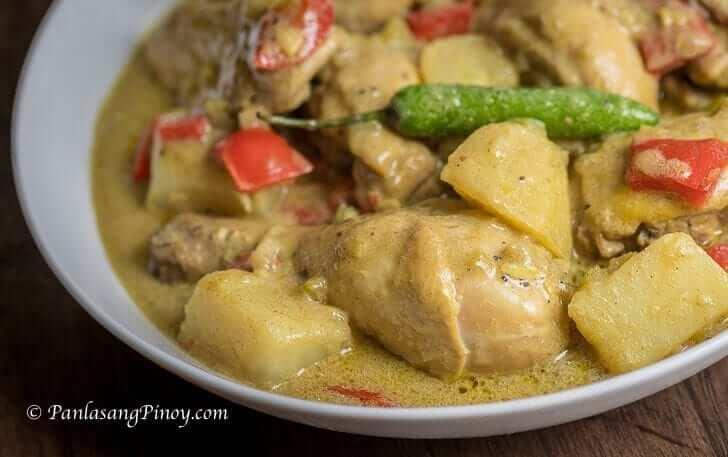 Filipino Style Chicken Curry Panlasang Pinoy