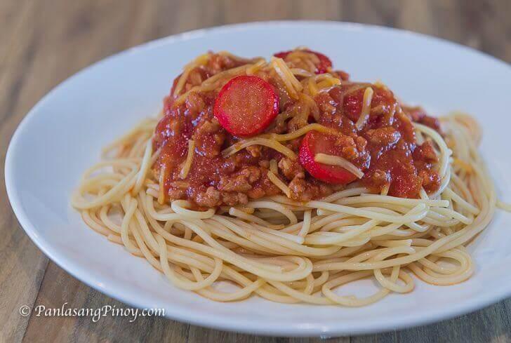 easy pinoy spaghetti recipe