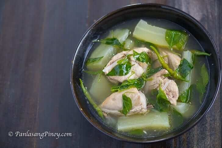 Chicken Tinola Recipe Panlasang Pinoy