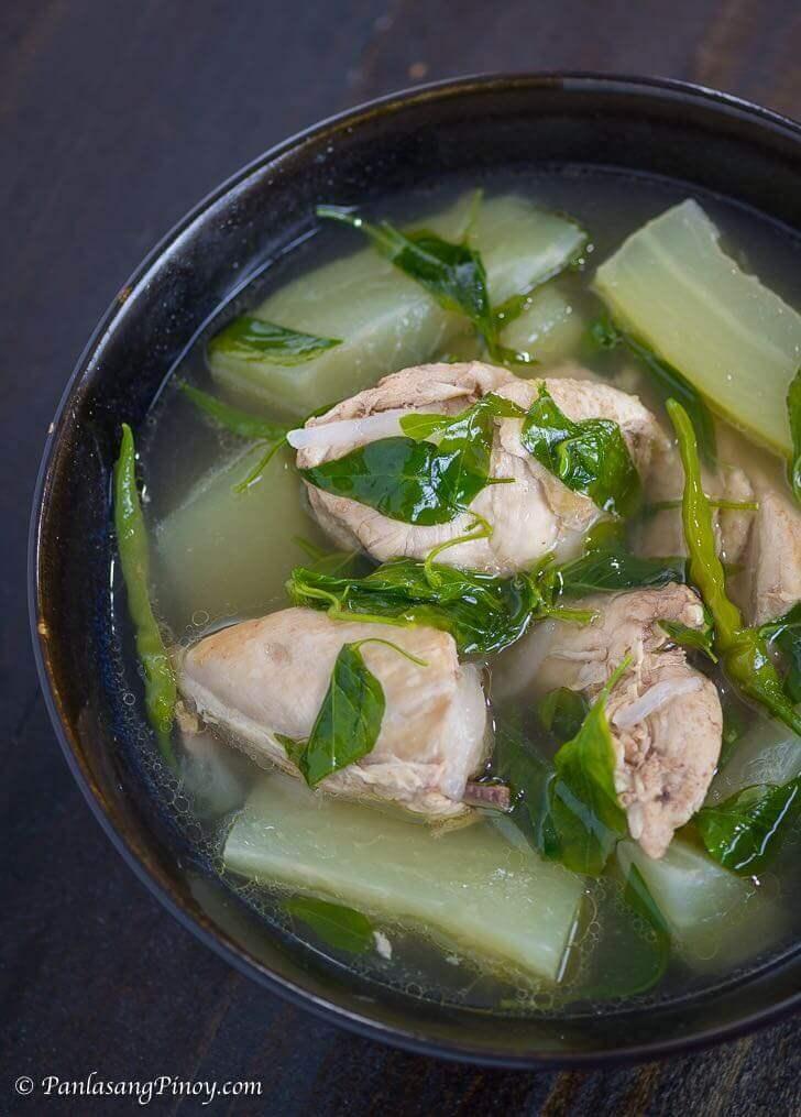 Chicken Tinola Soup Recipe