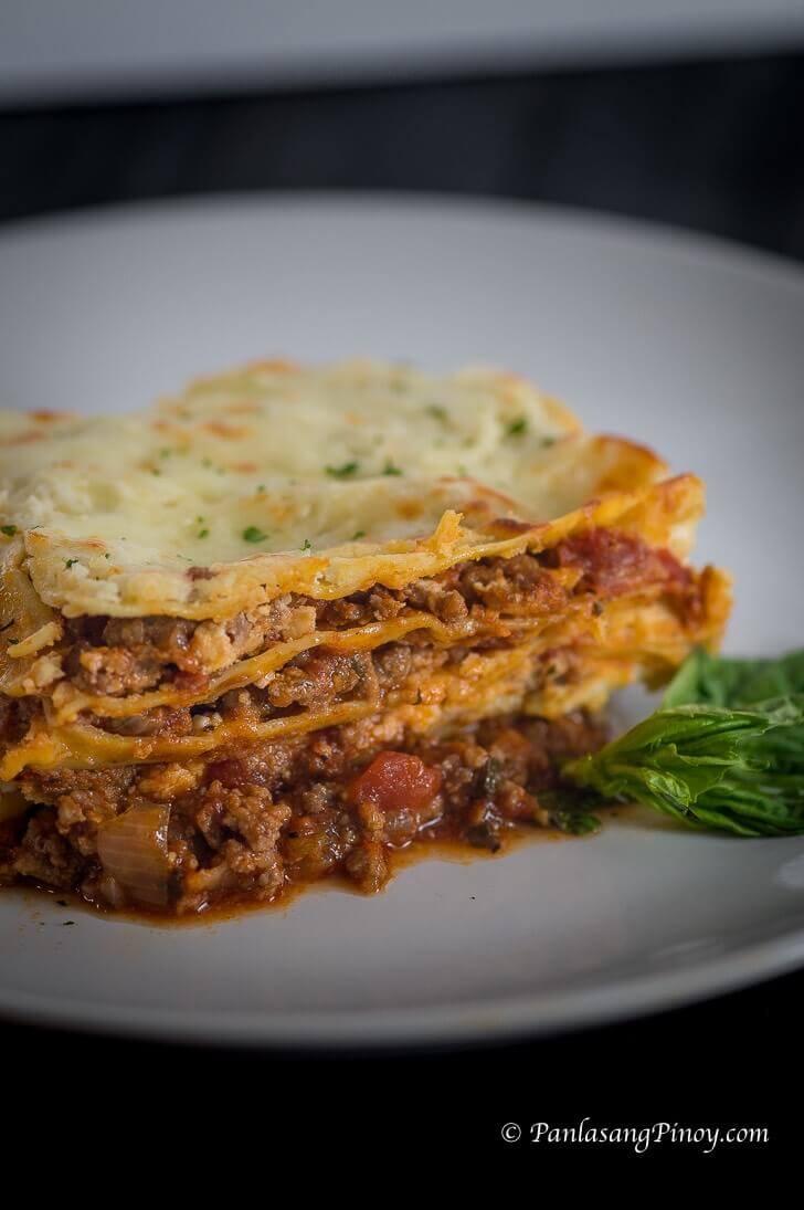 Christmas Lasagna Recipe