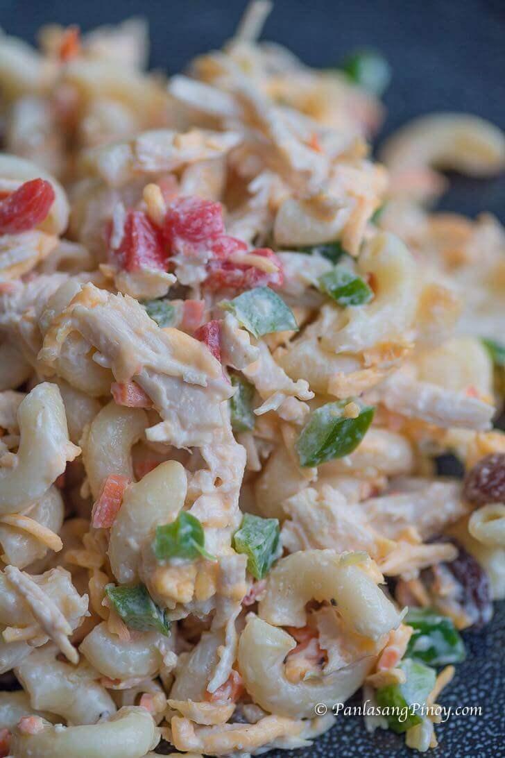 Filipino En Macaroni Salad Recipe Panlasang Pinoy