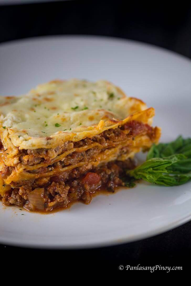 Lasagna Panlasang Pinoy
