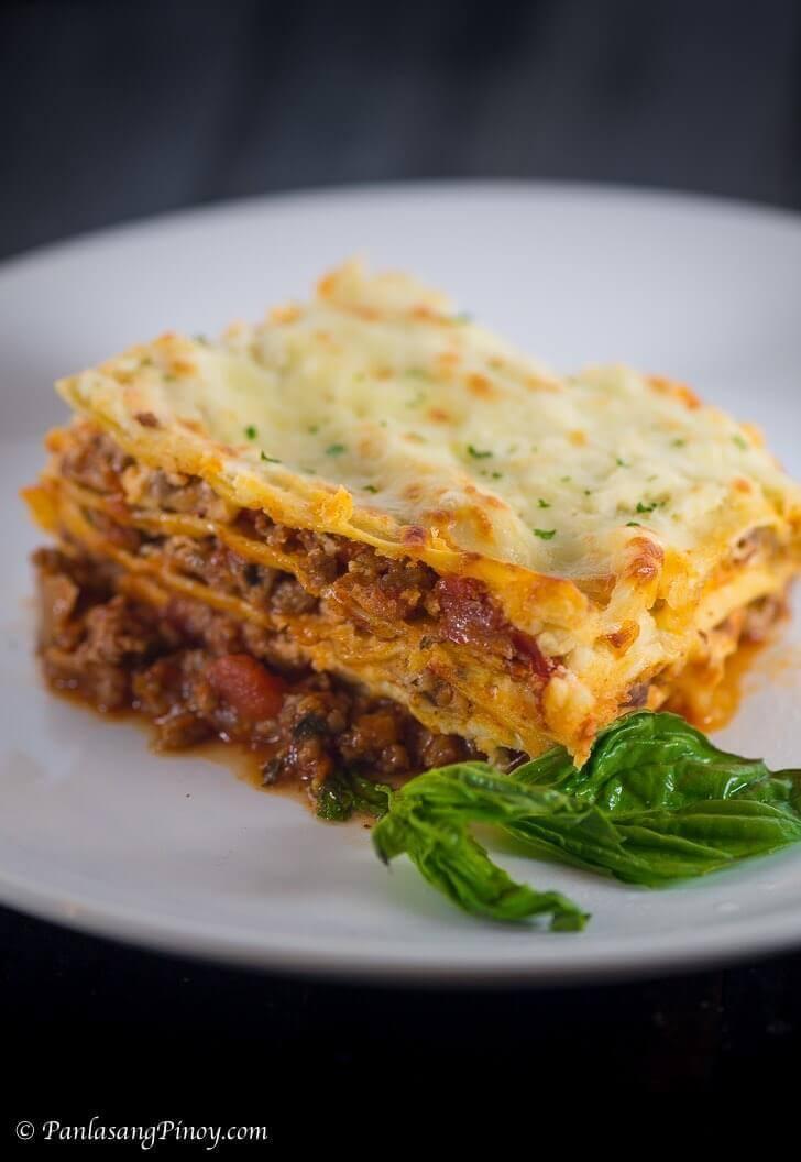 Lasagna Recipe Panlasang Pinoy