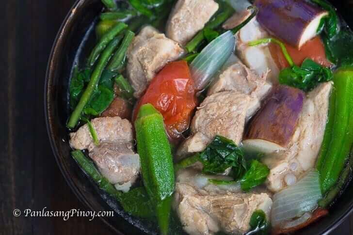 Sinigang na Baboy Recipe Panlasang Pinoy