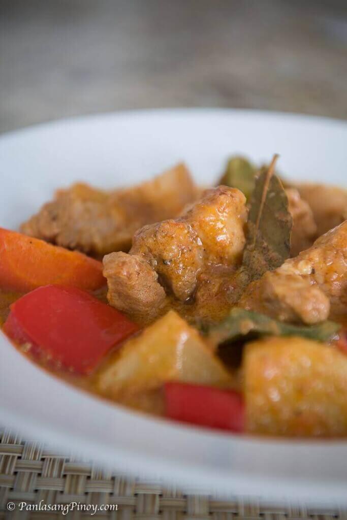 Pork Kaldereta sa Gata Recipe