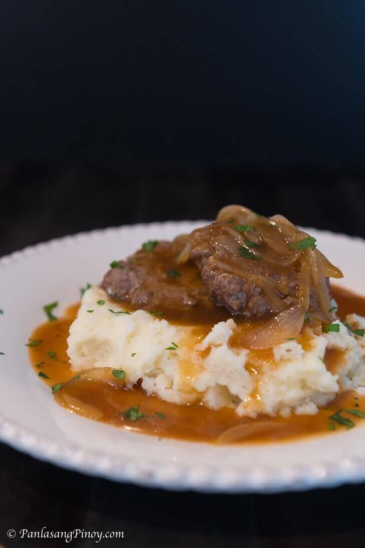 Salisbury Steak with Mashed Potato