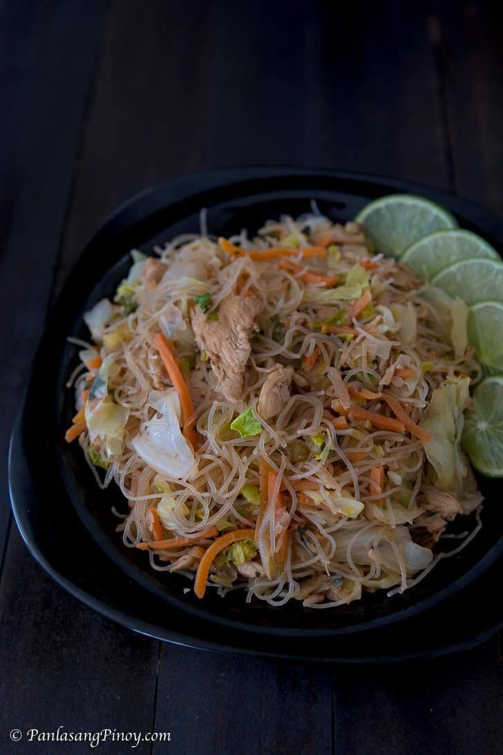 Filipino Pancit Recipe