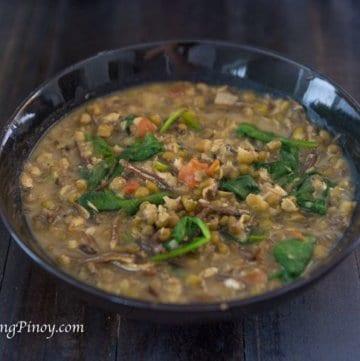 Monggo with Dilis Recipe Panlasang Pinoy