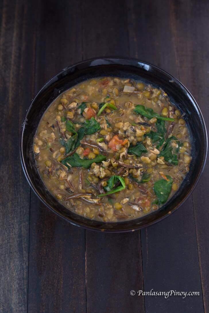 Monggo with Dilis Recipe