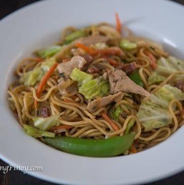 Pancit Canton Recipe Panlasang Pinoy