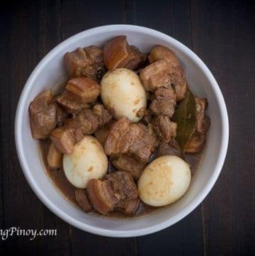Pork Adobo with Egg Recipe