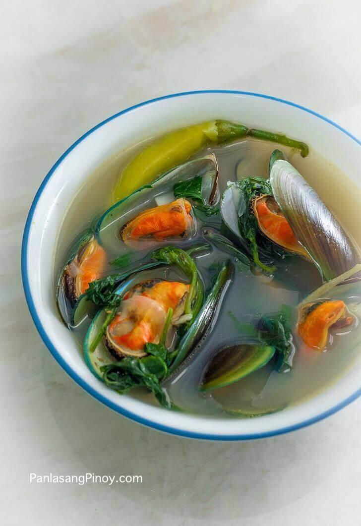 Tinolang Tahong Soup