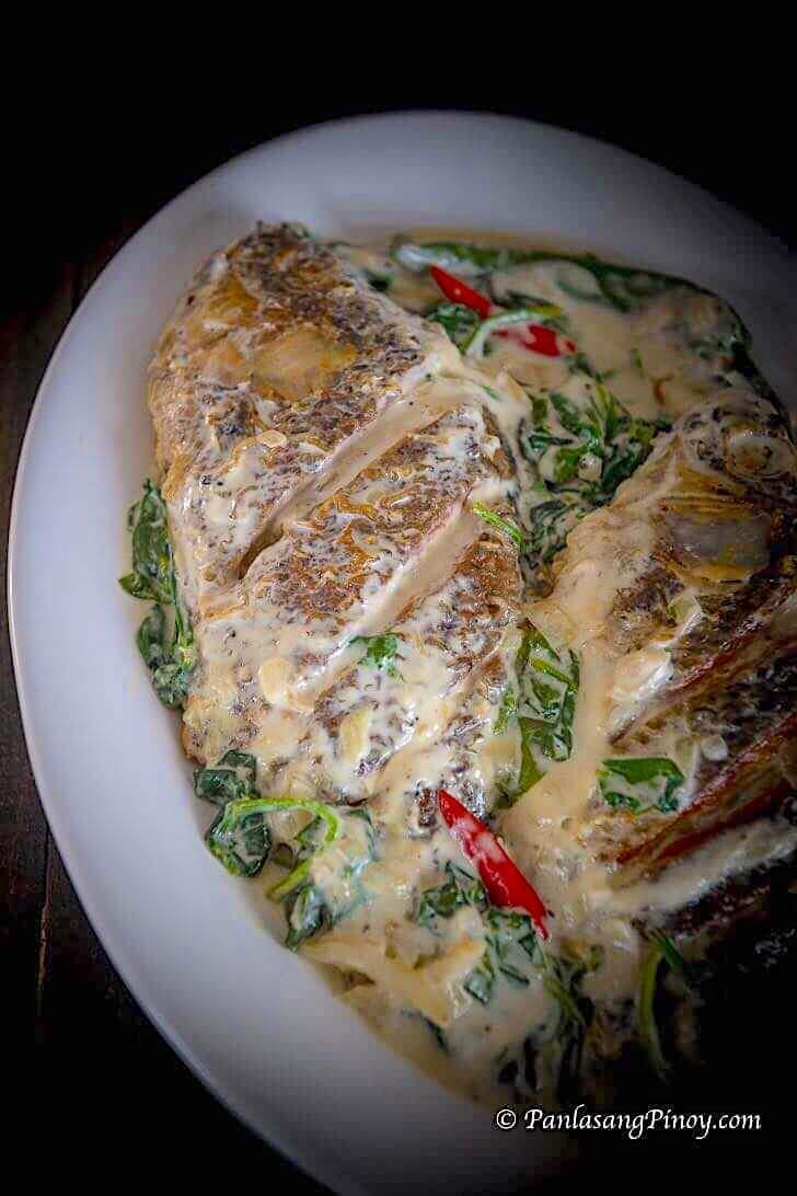 ginataang tilapia recipe panlasang pinoy