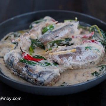 Ginataang Mackerel