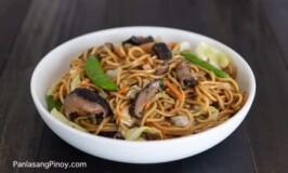 Vegetarian Pancit Canton Recipe