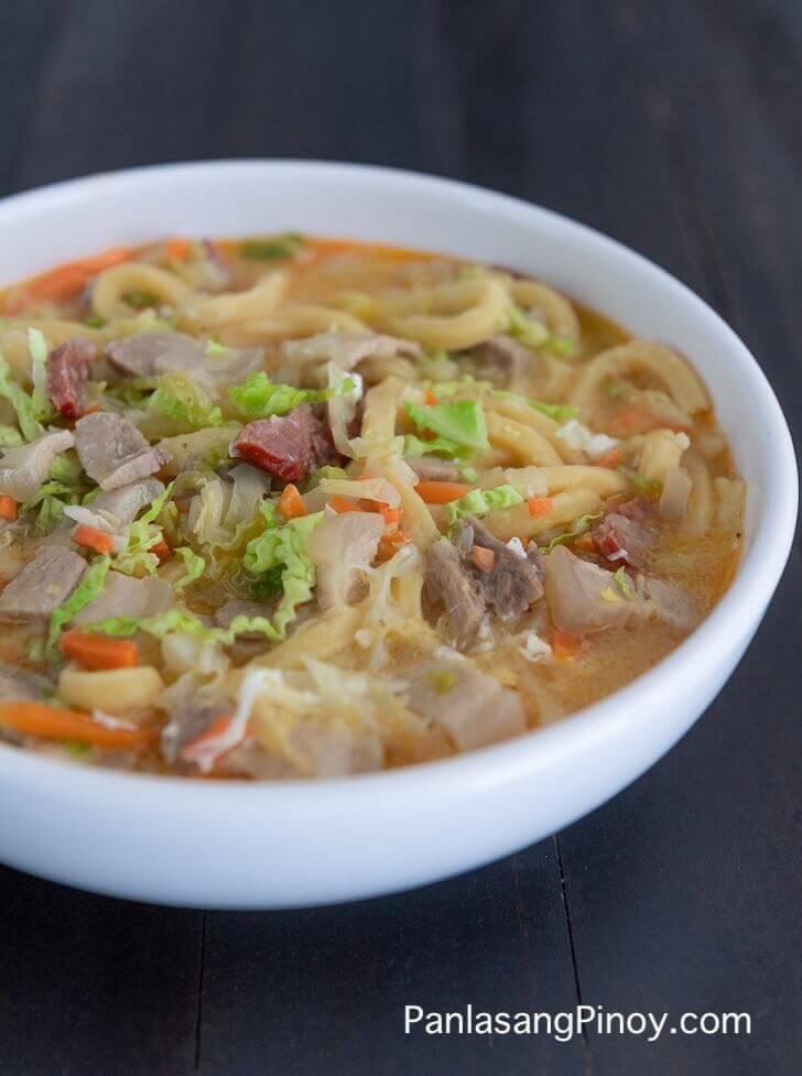 Pork Lomi Recipe