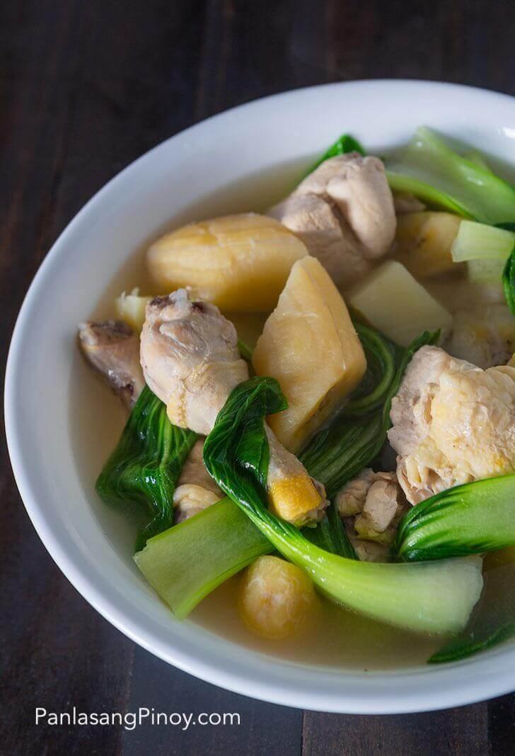 Nilagang Manok Recipe Chicken Soup
