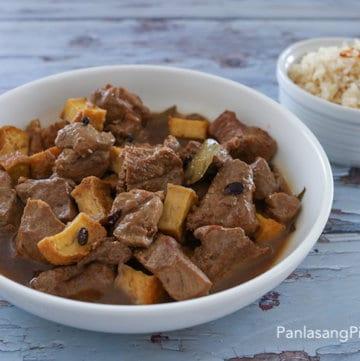 Pork Adobo with Garlic Fried Rice