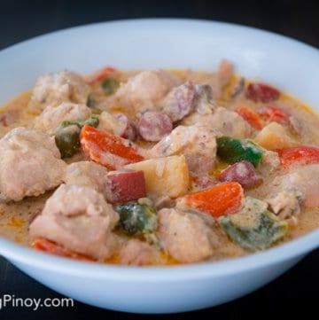 filipino creamy chicken pastel recipe