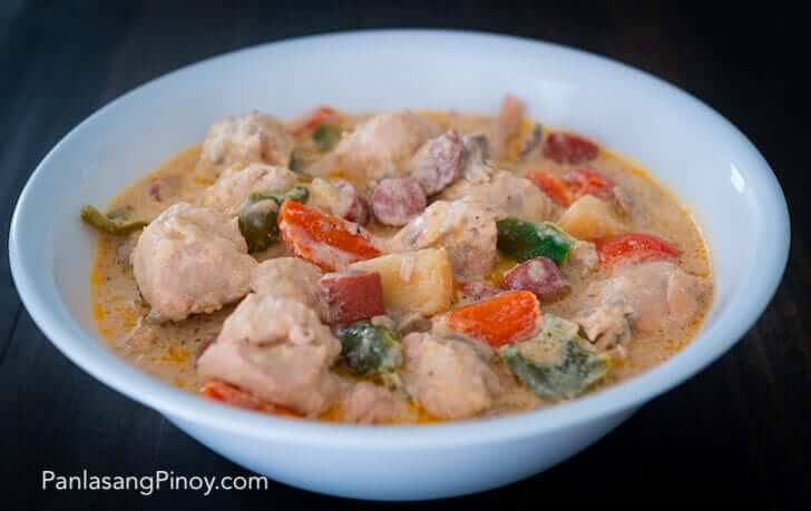 filipino creamy chicken pastel recipe