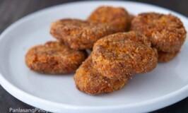 Kalabasa and Corned Beef Nuggets