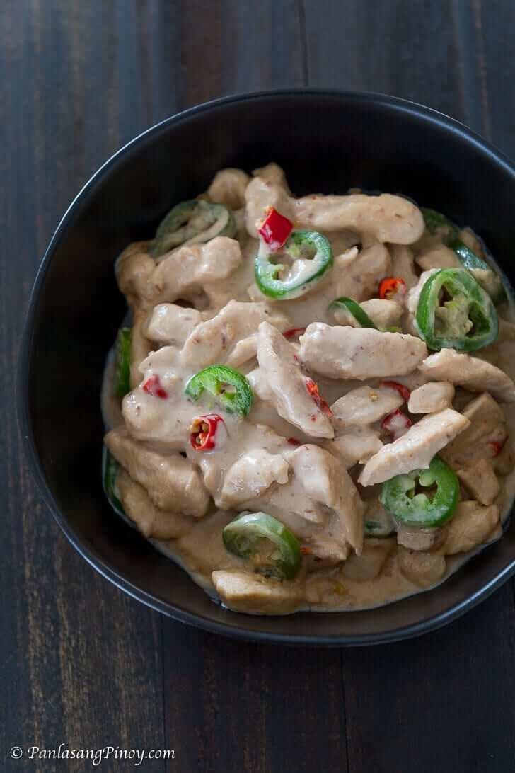 chicken bicol express recipe