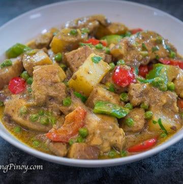 pork and chicken curry recipe