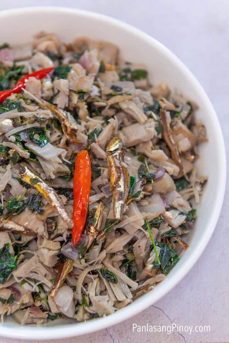ginataang langka with dilis recipe