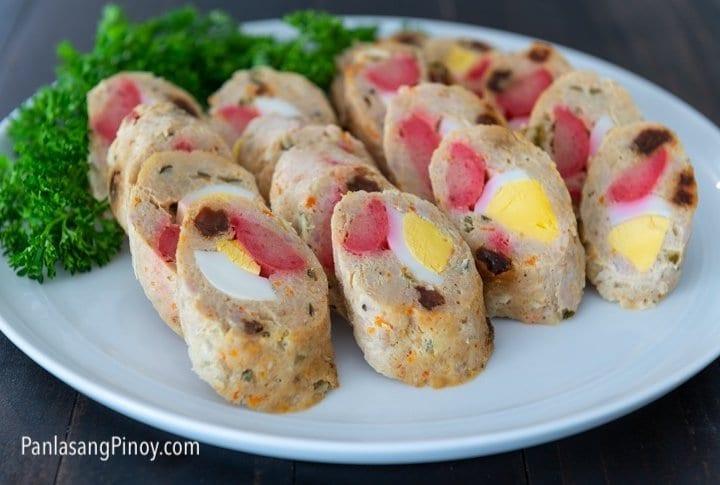 chicken and pork embutido recipe