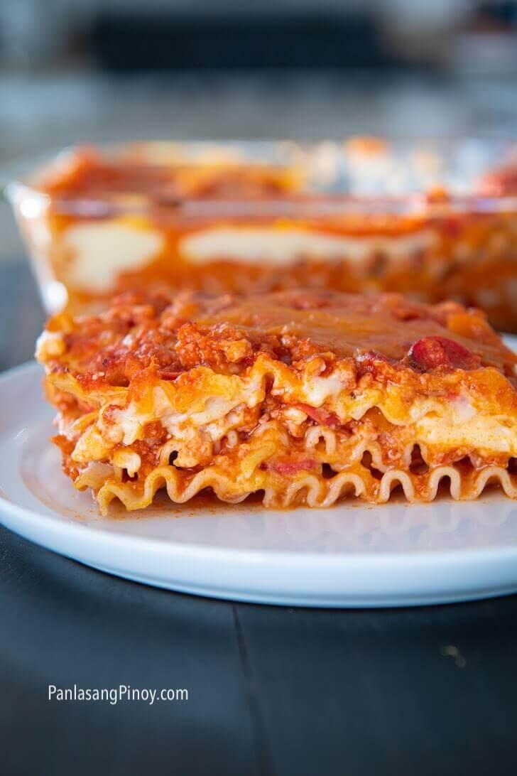 filipino style lasagna recipe